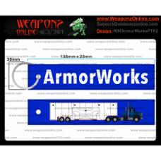 Custom ArmorWorks Keychain