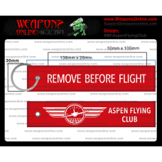 Custom Aspen Flying Club Remove Before Flight ®
