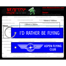 Custom Aspen Flying Club 2 Remove Before Flight