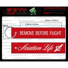 Custom Aviation Life Remove Before Flight ®