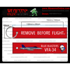 Custom VFA-34 Remove Before Flight ®
