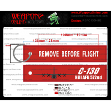 Custom C-130 Hill AFB 572nd Remove Before Flight ®
