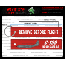 Custom C-130 Robins AFB GA Remove Before Flight ®