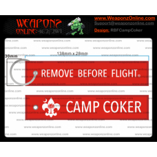 Custom Camp Coker Remove Before Flight ®