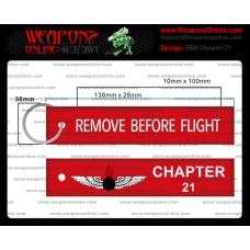 Custom Chapter 21 Remove Before Flight ®