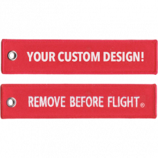 (Custom) Set of Remove Before Flight Keychains