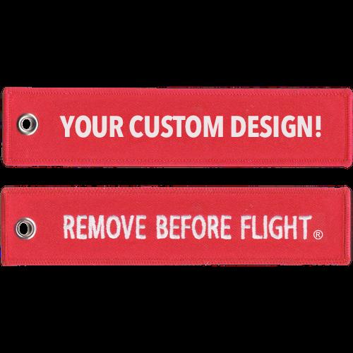 (Custom) Set of Remove Before Flight Keychains