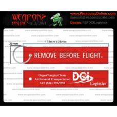 Custom DCI Logistics Remove Before Flight ®