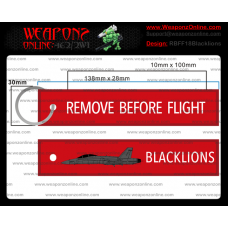 Custom F-18 Blacklions Remove Before Flight ®
