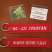 Custom HC-27J Remove Before Flight ®