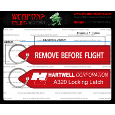 Custom Hartwell Corp Remove Before Flight ®