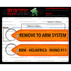 Custom HeliAfrica Rhino 911 Remove To Arm System