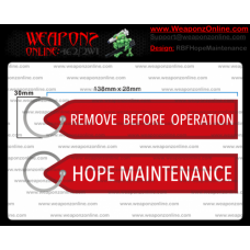 Custom Hope Maintenance Remove Before Operation