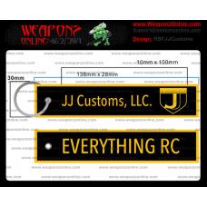 Custom JJ Customs Remove Before Flight