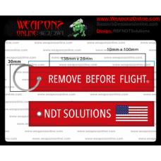 Custom NDT Solutions Remove Before Flight ®