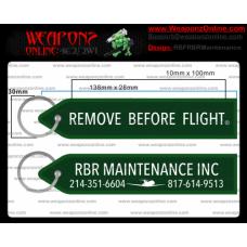 Custom RBR Maintenance Inc Remove Before Flight ®