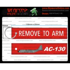 Custom AC-130 Remove To Arm Tag