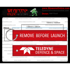 Custom Teledyne Defence & Space Remove Before Launch