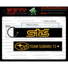 Custom Team Subaru 15 Remove Before Flight