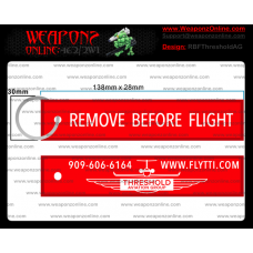 Custom Threshold Aviation Group Remove Before Flight ®
