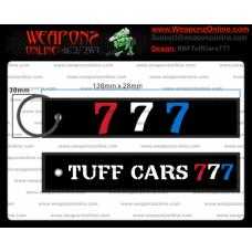 Custom Tuff Cars 777 Remove Before Flight Keychain