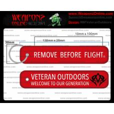 Custom Veteran Outdoors Remove Before Flight ®