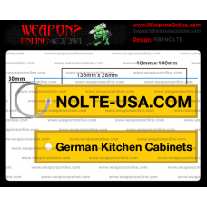 Custom Nolte USA Remove Before Flight