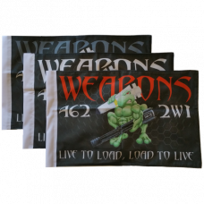 "Weapons Loadtoad Flag (10"" x 15"")"