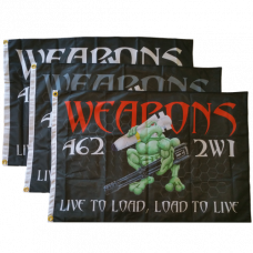 Weapons Loadtoad Flag (2' x 3')
