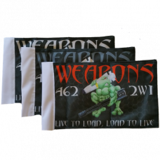 "Weapons Loadtoad Flag (6"" x 9"")"