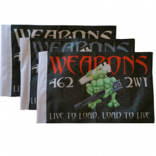 """Weapons Loadtoad Flag (8"""" x 12"""")"""