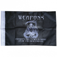 "Weapons Reaper Flag (10"" x 15"")"