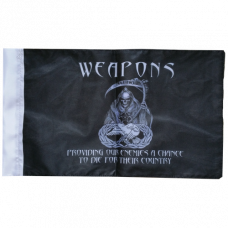 """Weapons Reaper Flag (8"""" x 12"""")"""