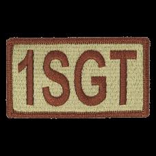 1SGT Duty Identifier Tab / Patch