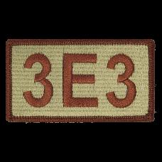3E3 Duty Identifier Tab / Patch