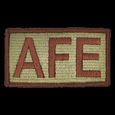 AFE Duty Identifier Tab / Patch