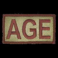 AGE Duty Identifier Tab / Patch