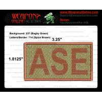 ASE Duty Identifier Tab / Patch (Minimum order 25pcs)