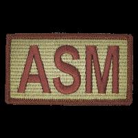 ASM Duty Identifier Tab / Patch