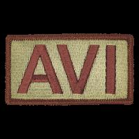 AVI Duty Identifier Tab / Patch
