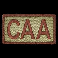 CAA Duty Identifier Tab / Patch (Minimum order 25pcs)