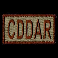 CDDAR Duty Identifier Tab / Patch