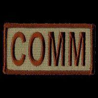 COMM Duty Identifier Tab / Patch