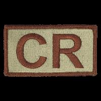 CR Duty Identifier Tab / Patch
