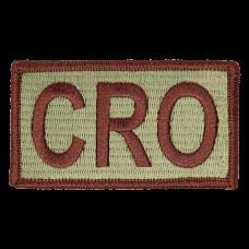 CRO Duty Identifier Tab / Patch (Minimum order 25pcs)