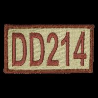 DD214 Duty Identifier Tab / Patch