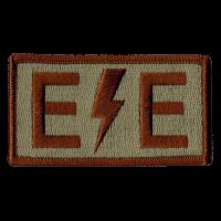 E/E Duty Identifier Tab / Patch (Lightning Bolt)