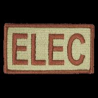 ELEC Duty Identifier Tab / Patch