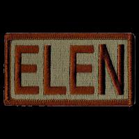 ELEN Duty Identifier Tab / Patch