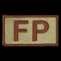 FP Duty Identifier Tab / Patch (Minimum order 25pcs)